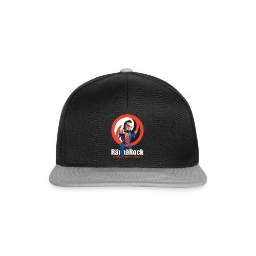 Räyhärock musta - Snapback Cap