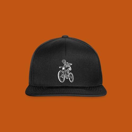 BMX / Mountain Biker 04_weiß - Snapback Cap