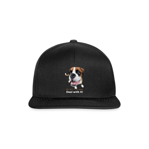 MY Best Friend Forever is my dog! - Snapback Cap