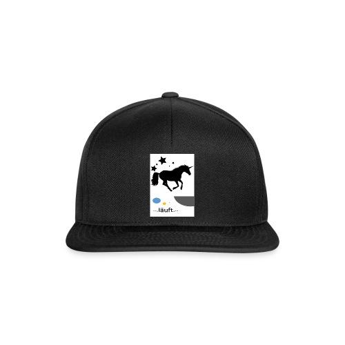 Pferd läuft - Snapback Cap