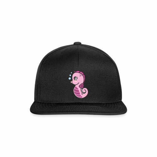 Seepferdchen Mädchen - Snapback Cap