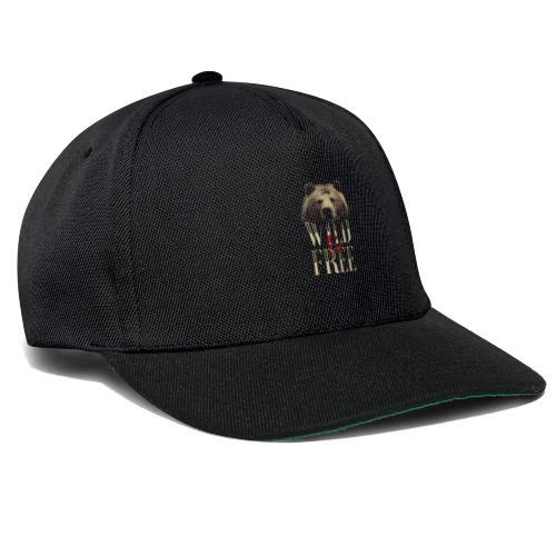 free tee wild free - Snapback Cap