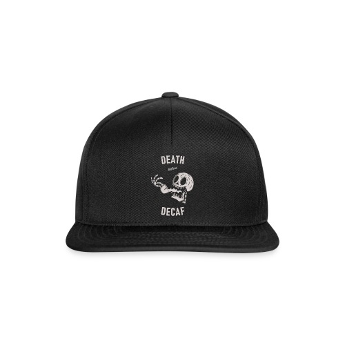 Death Before Decaf - Casquette snapback