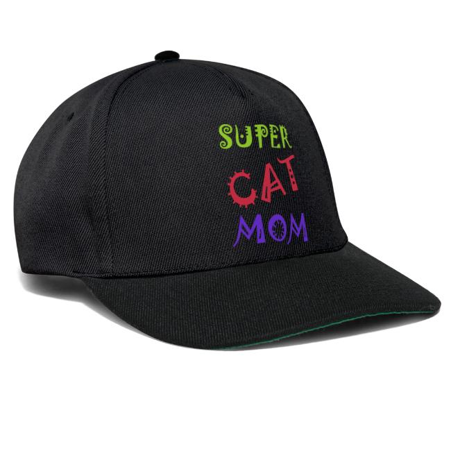Super cat mom