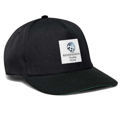 Richifinancial Logo Merch - Snapback Cap