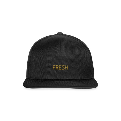 Limited Edition Fresh (Gold) Design - Snapback Cap