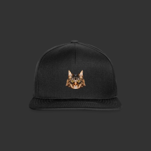 Chat LowPoly - Casquette snapback