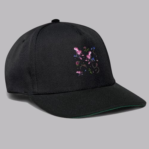 spring pattern - Snapback Cap
