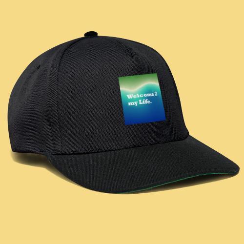 my Life Leben Lieben Genießen Abenteuer - Snapback Cap