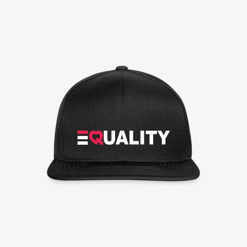 EQUALITY WIT - Snapback cap