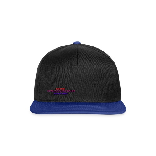 SUBSCRBE - Snapback Cap