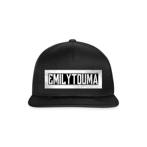 emilytouma 2100 700 groot design png - Snapback cap