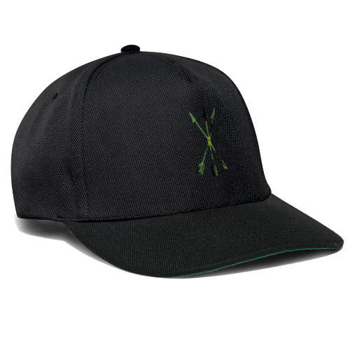 Scoia tael emblem green yellow black - Snapback Cap