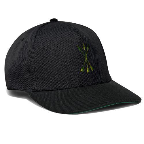 Scoia tael emblem green yellow - Snapback Cap
