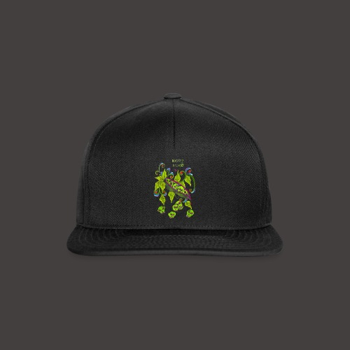 GREEN PSYCHO - Casquette snapback