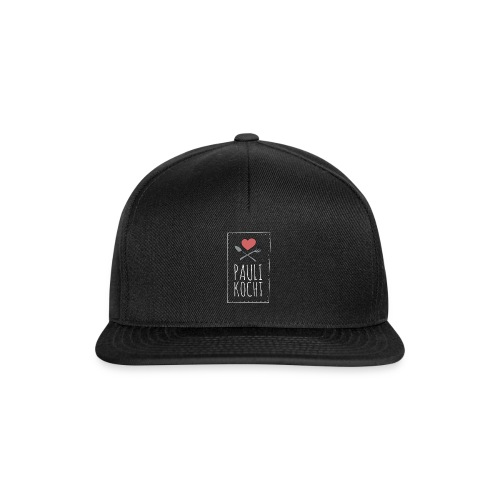 Logo Hoch weiss - Snapback Cap