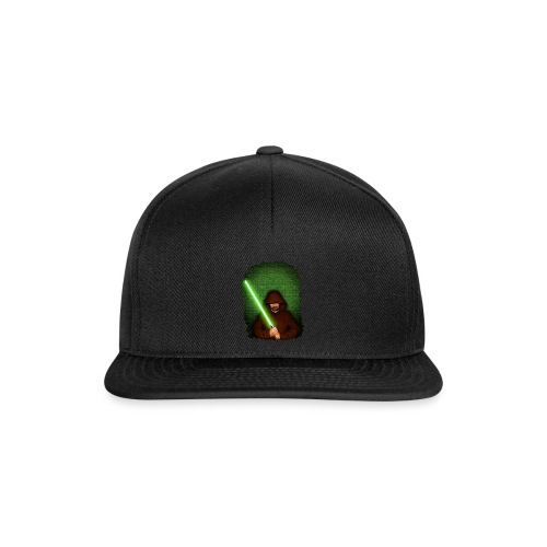Jedi warrior with green lightsaber - Snapback Cap