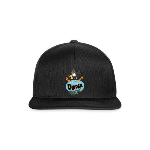 DipperDX logo trans 600dpi png - Snapback Cap