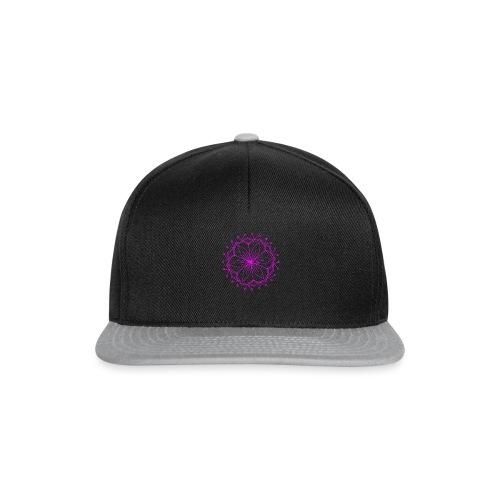 Pink Lotus Mandala - Snapback Cap