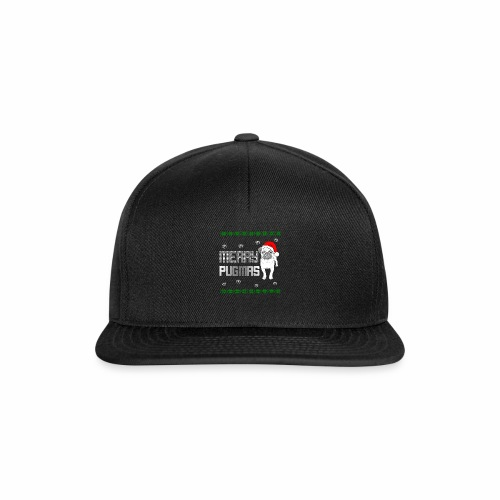 Merry Pugmas - Snapback Cap