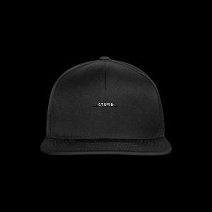 Stupid - Snapback Cap