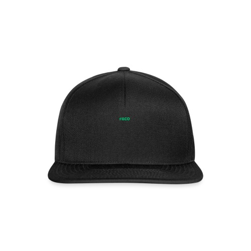 #ECO Blue-Green - Snapback Cap