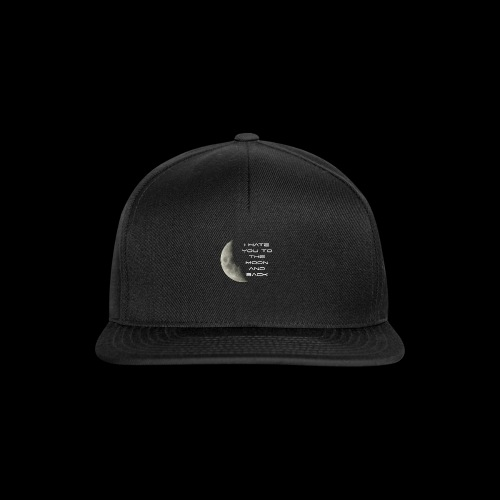 I Hate You - Snapback Cap