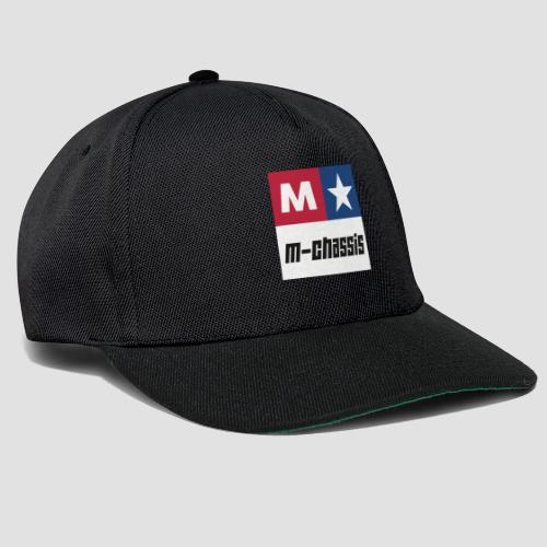 M-Chassis white - Snapback Cap