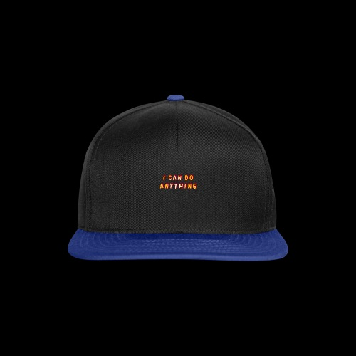 I can do anything - Snapback Cap