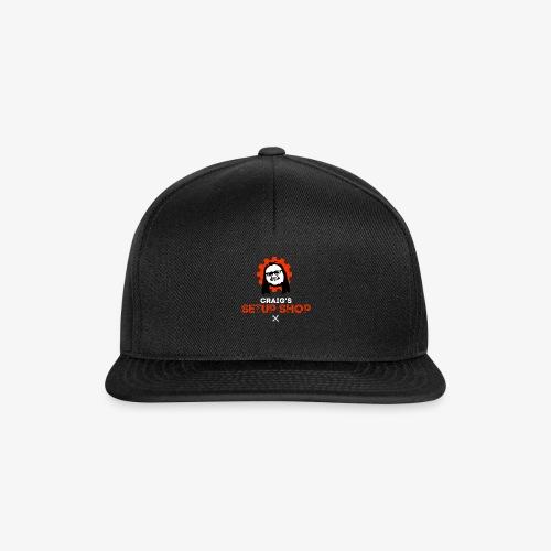 CraigSetupShopLogo - Snapback Cap