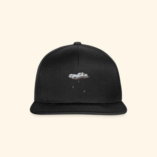 Nuvola con gocce grigie - Snapback Cap