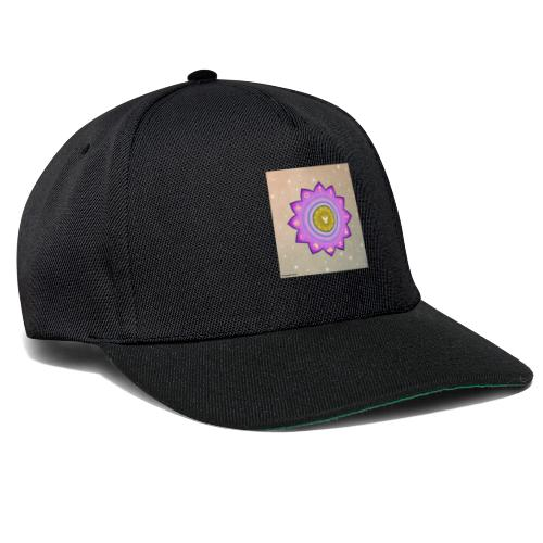 0 1 Dove Surrounded by Religious Symbols. - Snapback Cap