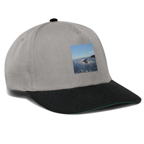 Mer avec roches - Casquette snapback
