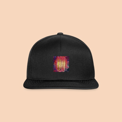 Abstraktes Kunst-Design 2714 by Todd Wichert - Snapback Cap