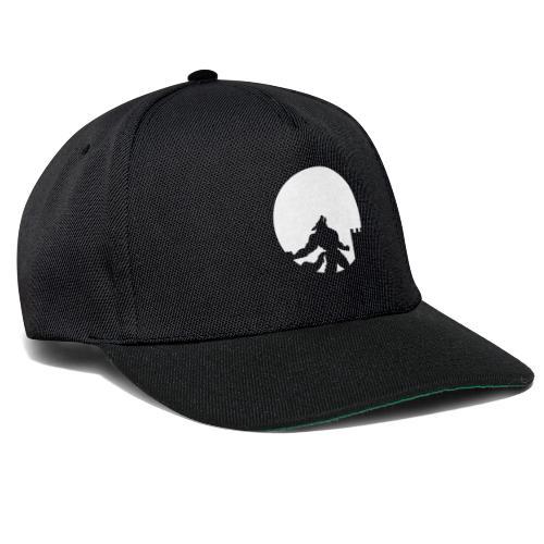 castle night wolf - Snapback Cap