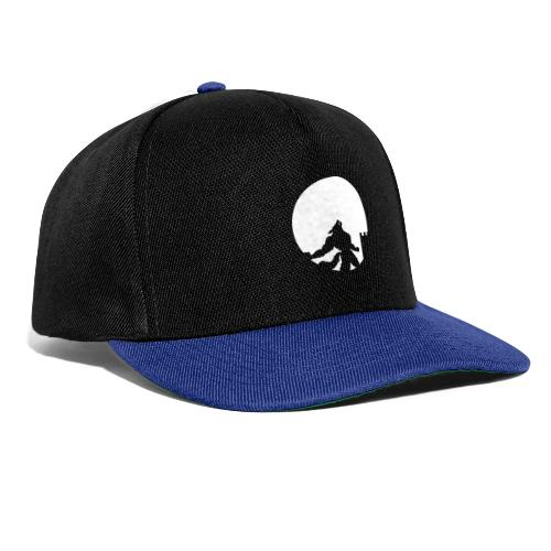 castle night wolf - Snapback Cap