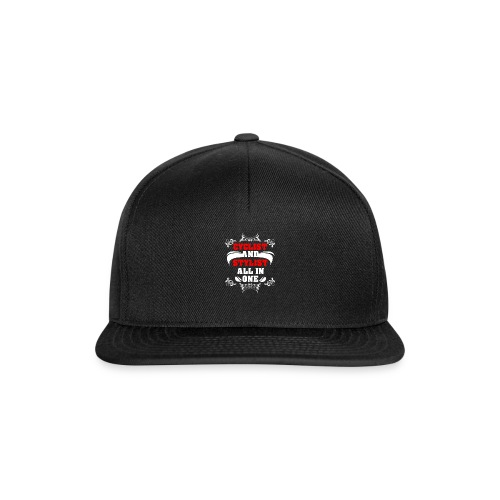 Cyclist and Stylist - Snapback Cap