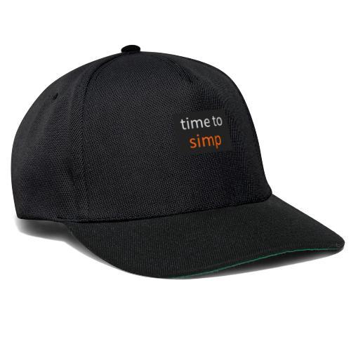 simping time - Snapback cap