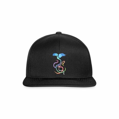 Graceful - Rainbow Bird in Ink - Snapback Cap