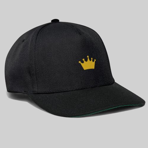 GOLD CROWN - Czapka typu snapback