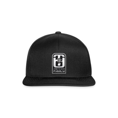 utm family Logo mit gorilla shirt4 png - Snapback Cap