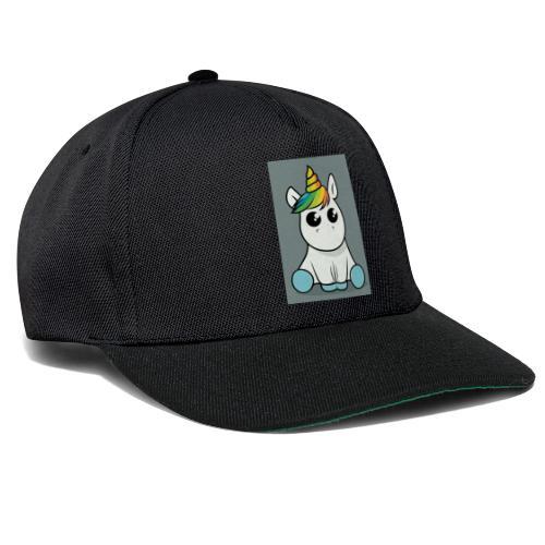 baby unicorn boy - Snapback Cap