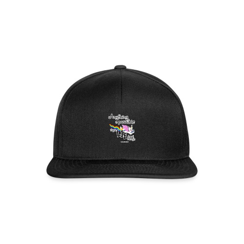 Anything Is Possible if you lie hard enough - Snapback Cap