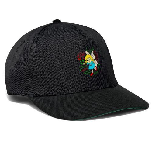 Elfe Traeumer in Rot - Snapback Cap