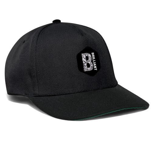 B brilliant black - Snapback cap