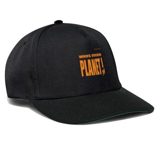 Orange Original PLanet Shirt - Snapback Cap