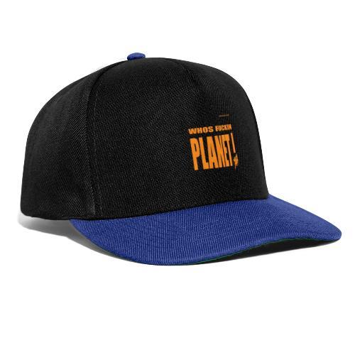 Orange Original PLanet Shirt - Snapback Cap