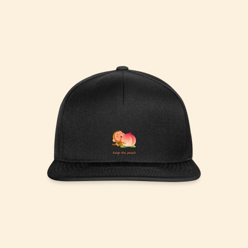 Monkey Keep the peach - Casquette snapback