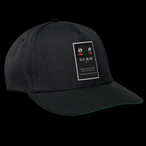 DJ G JOE JACK - PARTY DJ - Snapback Cap
