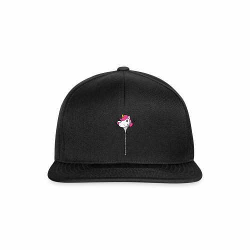 Nina-Nice Zipper Unicorn - Snapback Cap